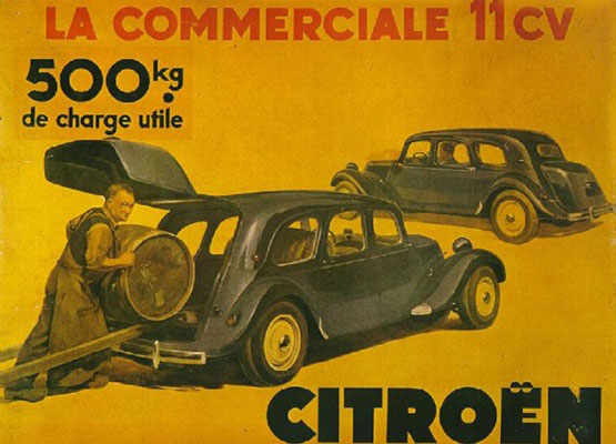 Citroen|La Commerciale 11CV
